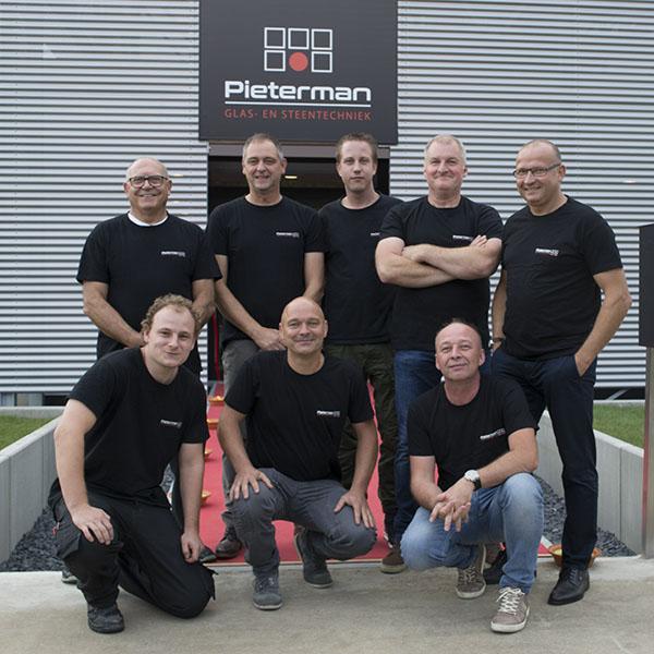 technische dienst Pieterman Glas- en Steentechniek