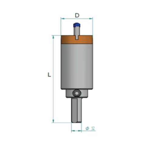 KDrills – FCYGP – Drill bits for hand machines